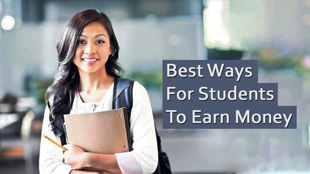 The best way for students to earn money online