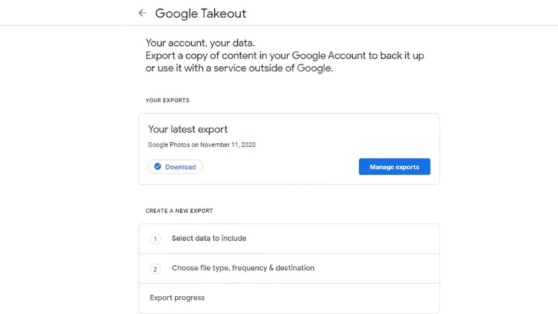 This is how you can export all your photos and videos from Google Photos