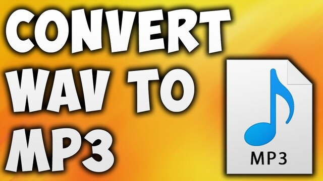 How to convert WAV to Mp3 For free