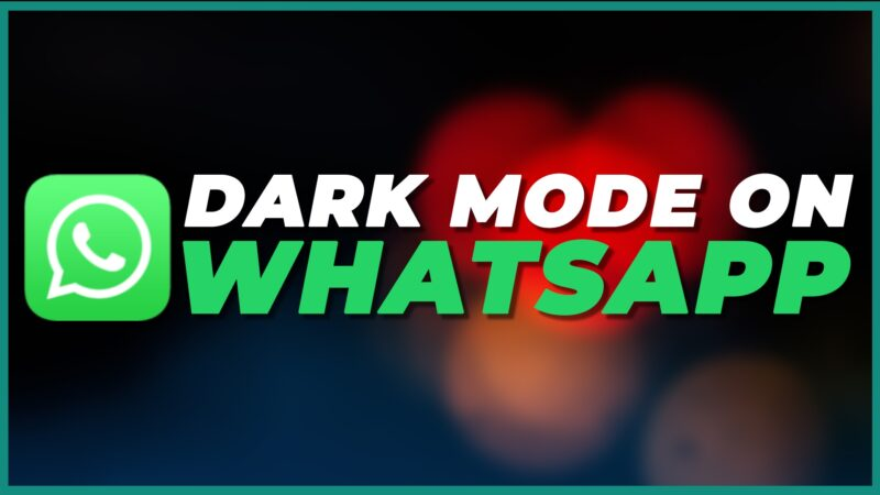 WhatsApp web dark mode: how to enable dark theme on WhatsApp web in two steps