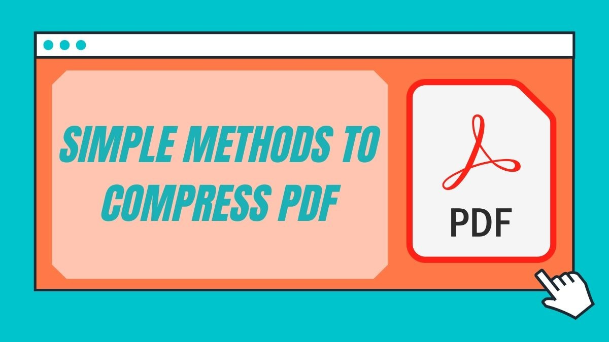 Compress PDF: How to Reduce PDF File Size for Free on Computer, Phone