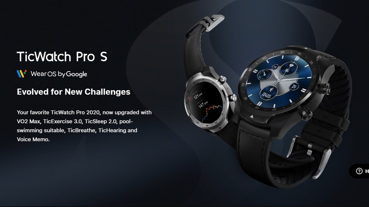 TicWatch Pro S price and specifications | up to 30-day battery life