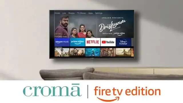 Croma Fire TV Edition Smart LED TVs Launched, Priced at Rs. 17,999 Onwards