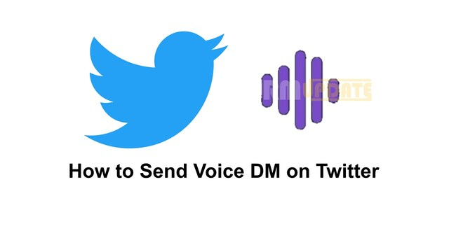 How to send voice messages in Twitter DM