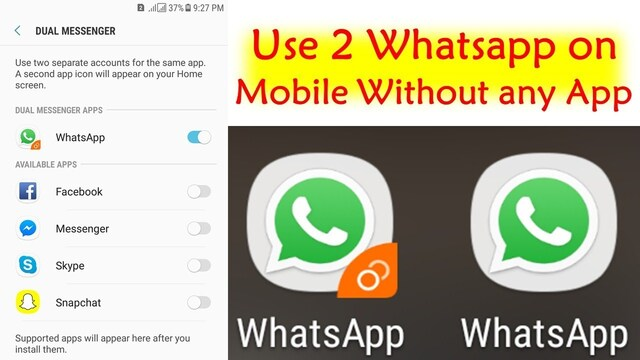 Dual WhatsApp: How to Use Two diffrent Accounts on One Android Phone