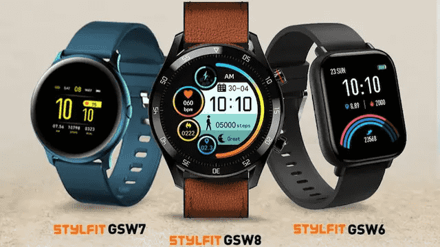 Gionee StylFit GSW6, StylFit GSW7, StylFit GSW8 Smartwatches With Bluetooth Voice Calling Launched in India