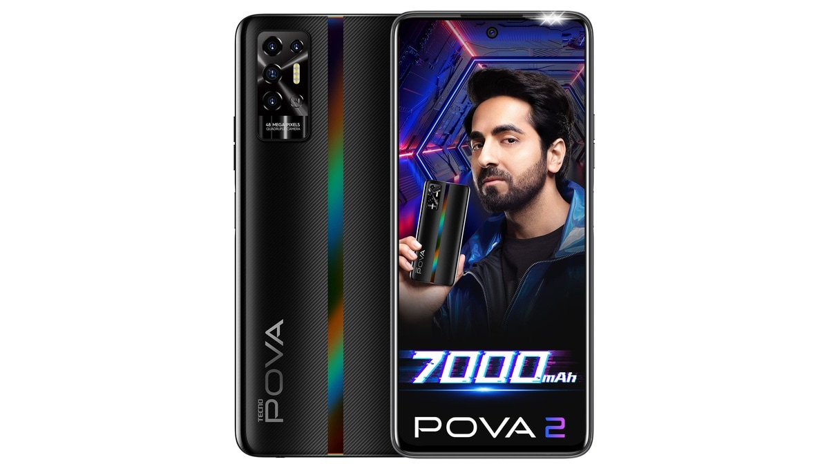Tecno Pova 2 With 7,000mAh Battery, MediaTek Helio G85 SoC Launched in India: Price, Specifications