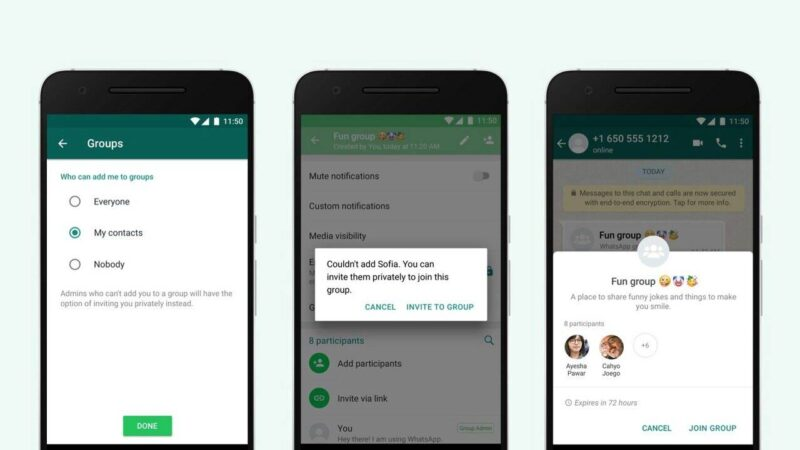 How to stop random people from adding you to WhatsApp groups